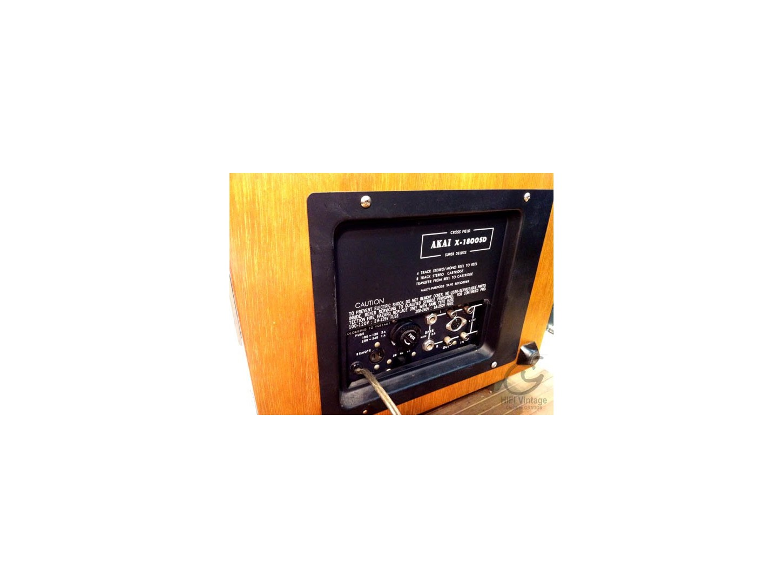 AKAI X-1800-SD