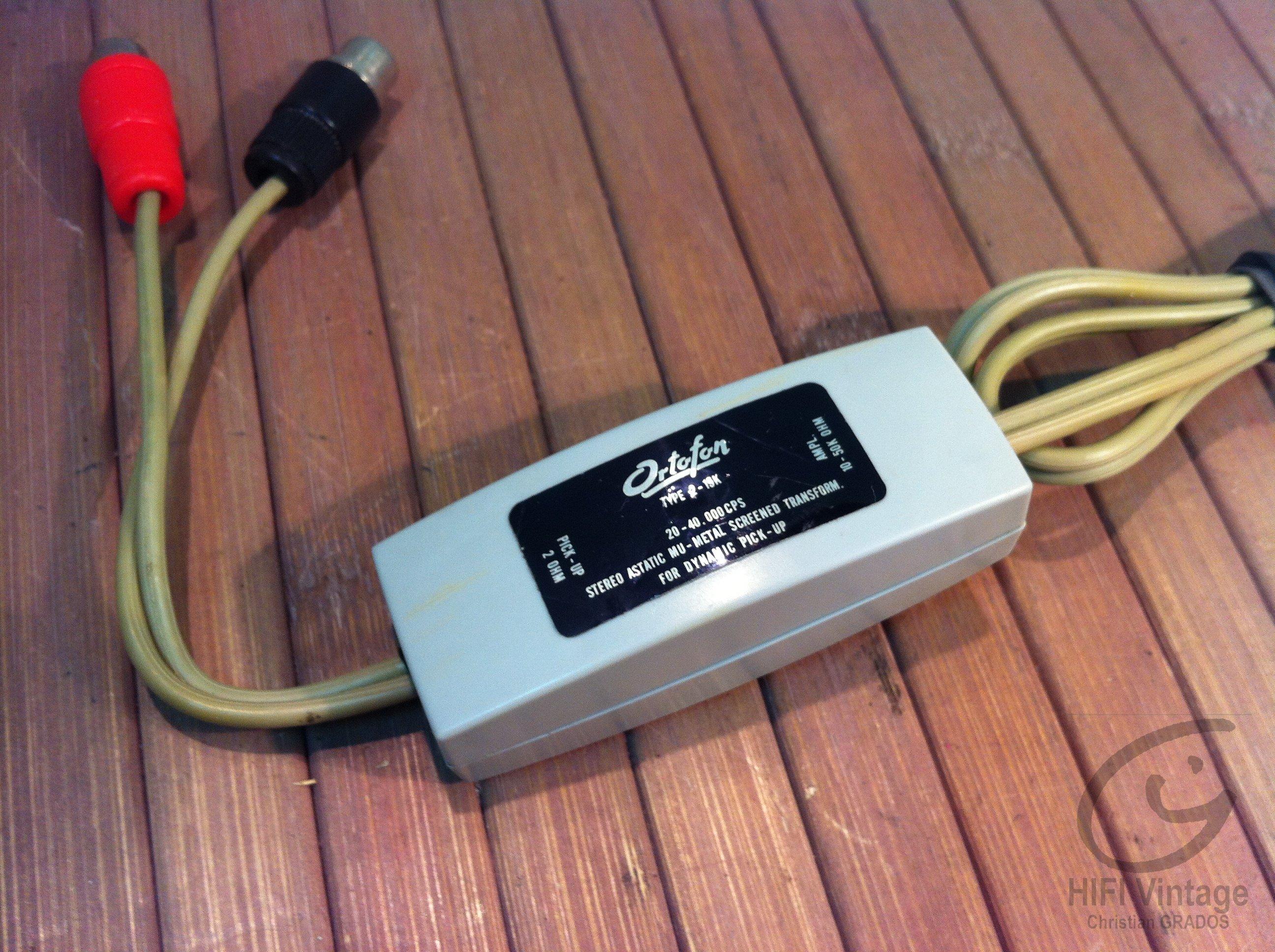 Ortofon Type 2-15K préampli Phono MC Hifi vintage réparations