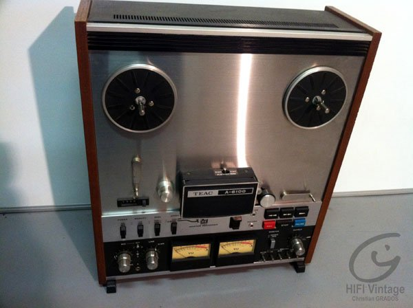 TEAC A-6100 Hifi vintage réparations