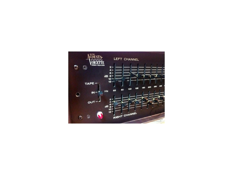 Altec Lansing 729-A Egualiseur 24 bandes