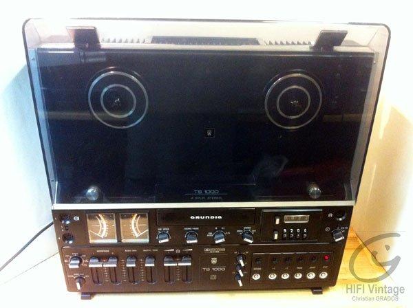 GRUNDIG TS-1000 Hifi vintage réparations