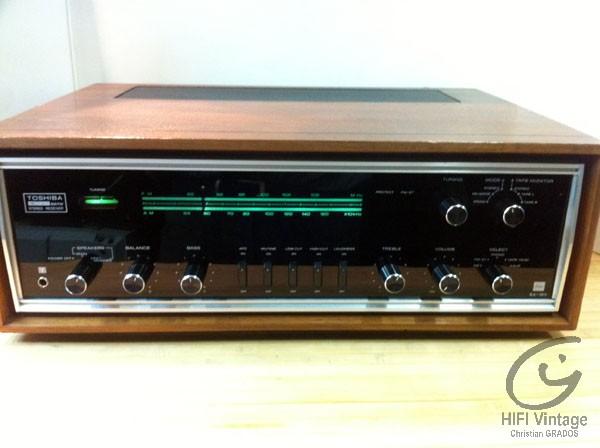 Toshiba SA-15Y ampli tuner hifi vintage réparations Hifi vintage réparations