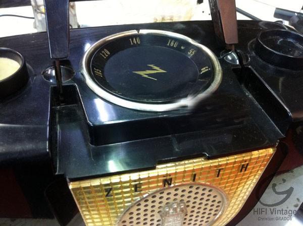 Zenith J-410-Y Hifi vintage réparations