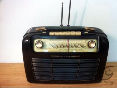 Schaub Camping 9147 radio hifi vintage réparations