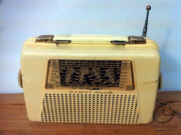 Pygmy Club radio Hifi vintage réparations