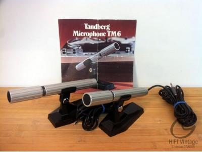 Tandberg Micro electrodynamique TM6 hifi vintage réparation réparateur