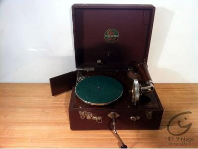 Parlophon Mini Gramophone  Hifi vintage réparations