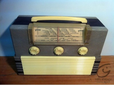 Vidor radio CN-421 portable hifi vintage réparations