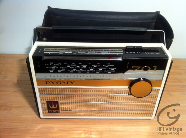 Pygmy radio 701 Hifi vintage réparations