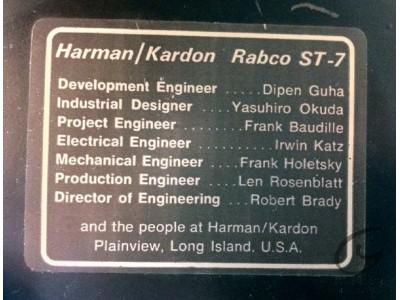 Harman Kardon ST7