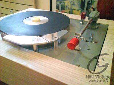 """Pierre CLEMENT platine """"D"""" H2 Hifi vintage réparations"""