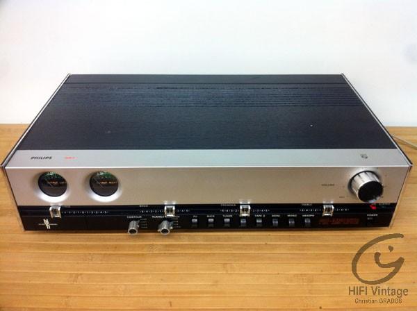 Philips 22-RH-551 preamplifier Hifi vintage réparations