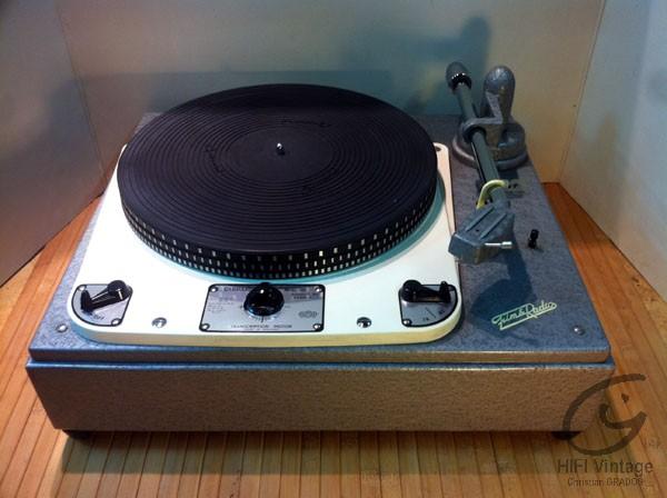 Garrard 301 Film et radio FR-301 platine hifi vintage réparateur