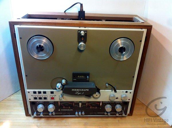 FERROGRAPH 7602-H Logic 7 Hifi vintage réparations