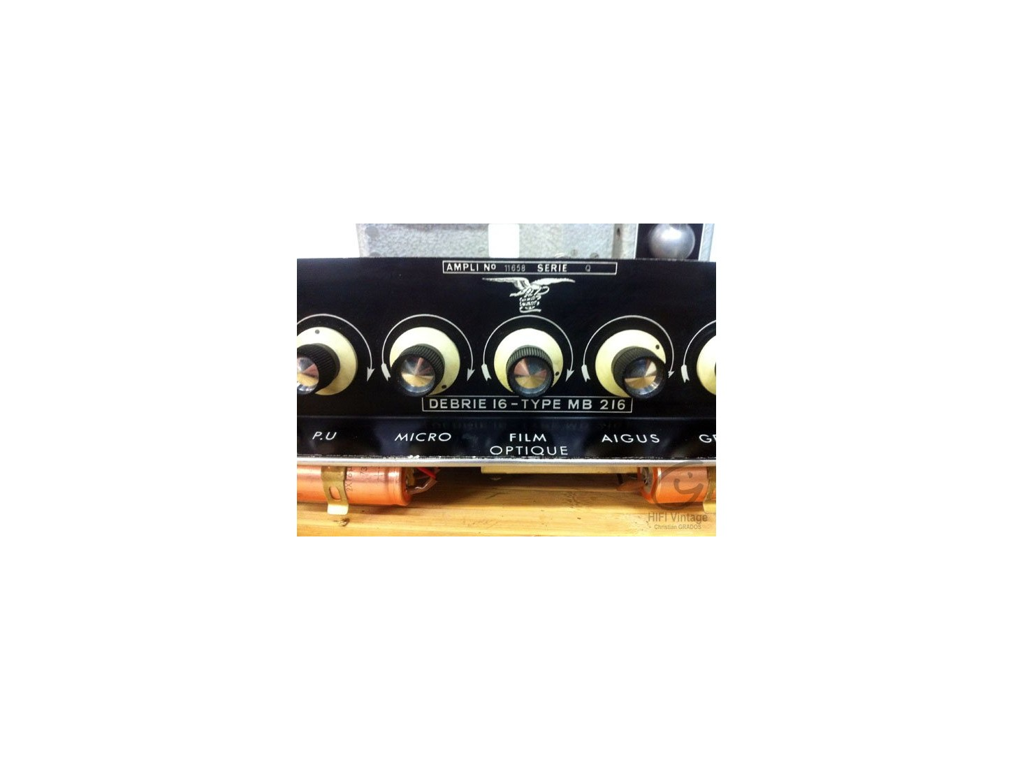 Debrie 16 MB-216 amplifier