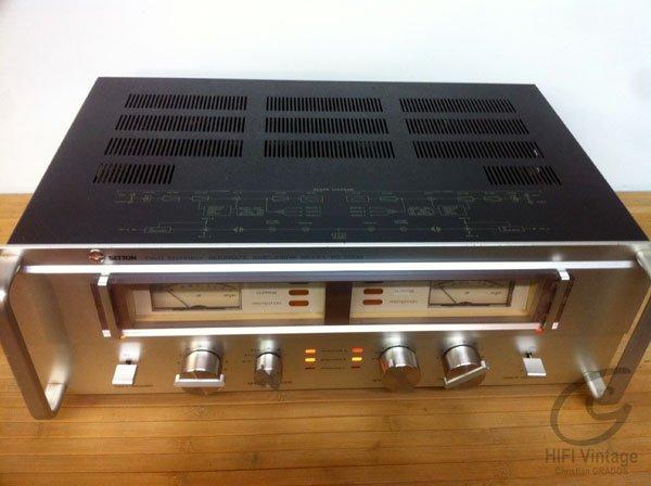 Setton BS-5500 Amplifier Hifi vintage réparations