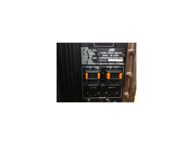 JVC JM-S1000 amplifier