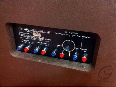 Sony SS-7600 Enceinte Hifi vintage réparations