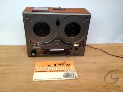 Tandberg Model-6 magnétophone Hifi vintage réparations
