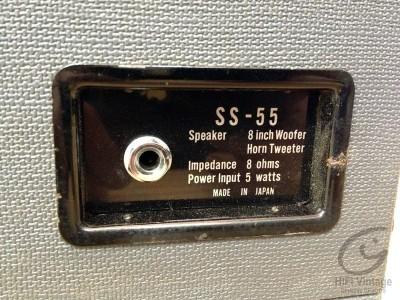 Akai SS-55 haut parleur Portables Hifi vintage réparation