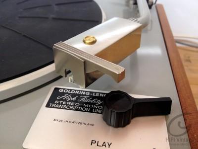 Lenco Goldring GS-70 platine Hifi vintage Réparateur