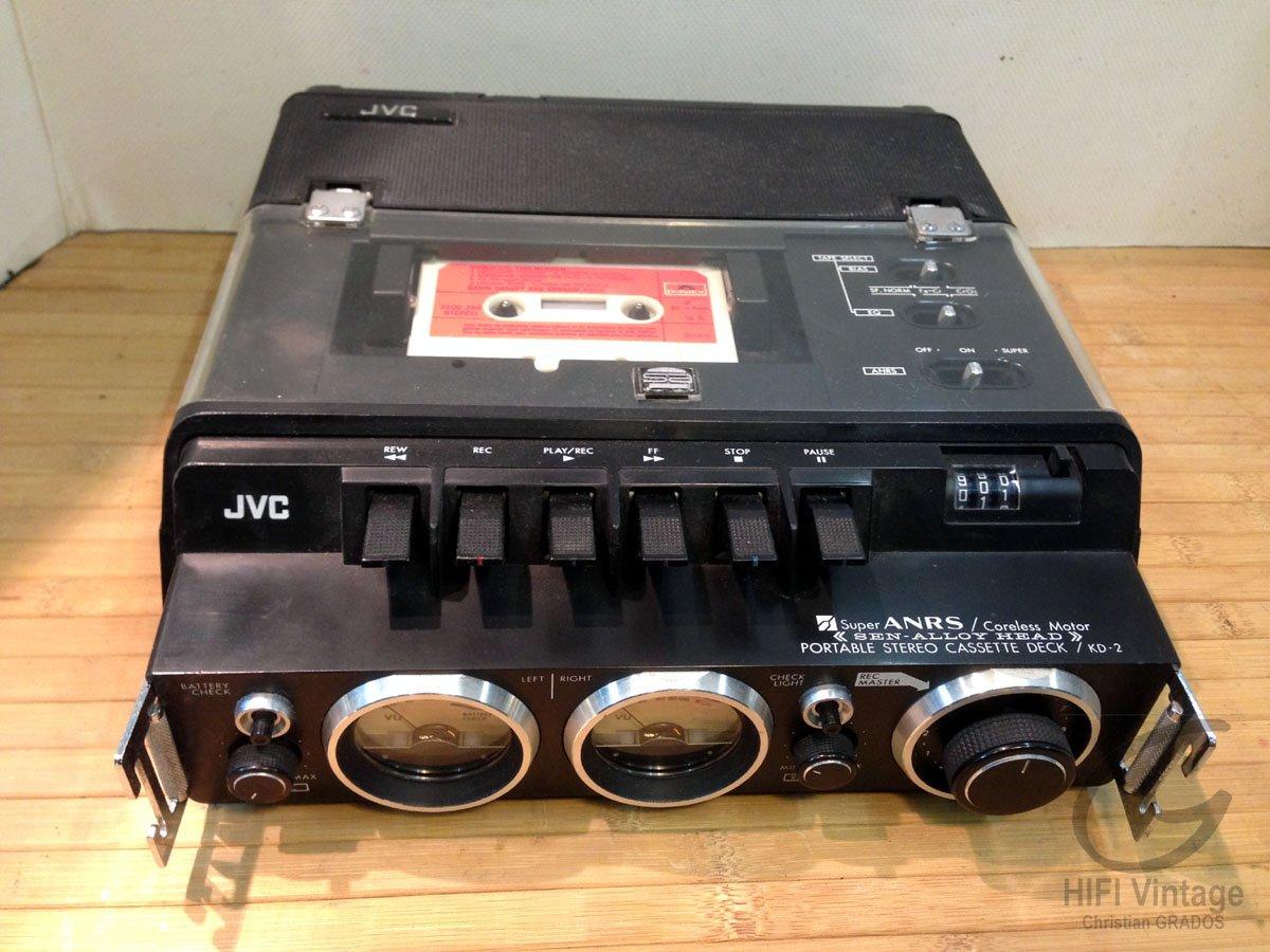 JVC KD-2 Hifi vintage réparations
