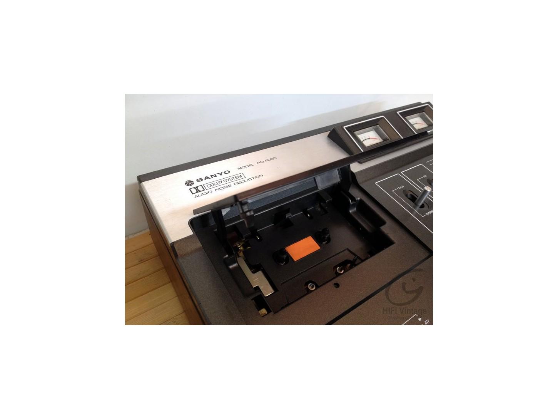 Sanyo RD-4055 casette Hifi vintage réparateur